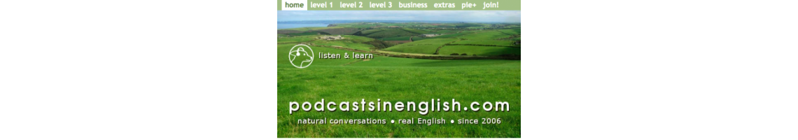 Imagem Podcasting - Learn English and listen to English