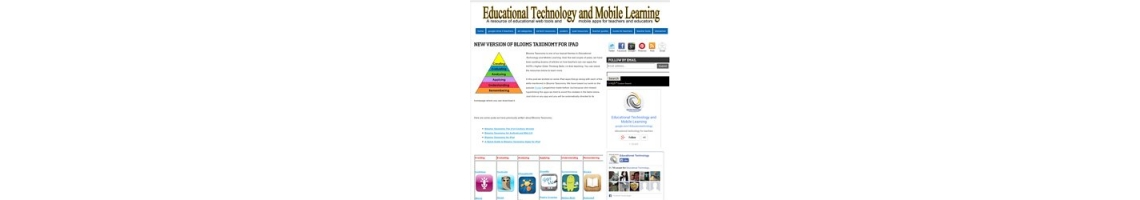 Imagem Educational Technology and Mobile Learning