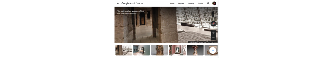 Metropolitan Museum of Art (Google Arts & Culture, Visita Virtual)