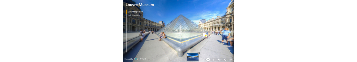 Museu do Louvre (Visita Virtual)