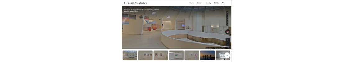 Museu Guggenheim (Google Arts & Culture, Visita Virtual)
