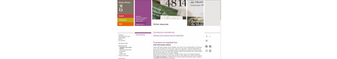 Museu d'Orsay - Online Resources