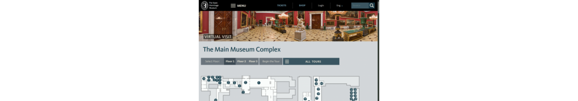 Museu do Hermitage (Visita Virtual)