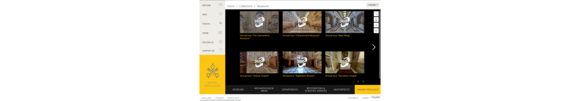 Museus do Vaticano (Visita Virtual)