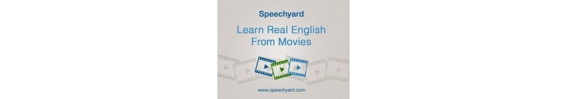 Imagem Speechyard - Learn English online through movies!