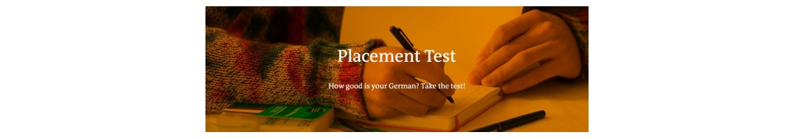 DW - Find out how good your German is!