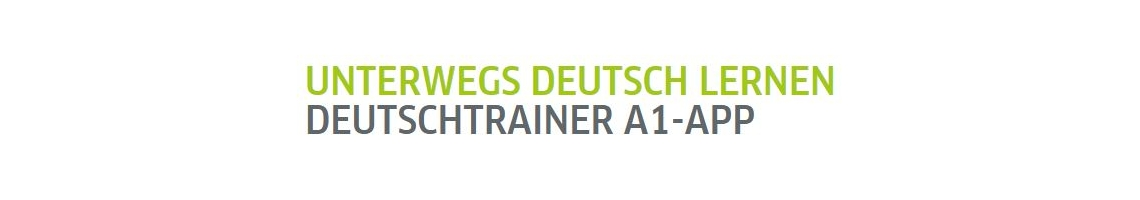 Learn German on the go Deutschtrainer A1-App (grátis para iOS e Android)