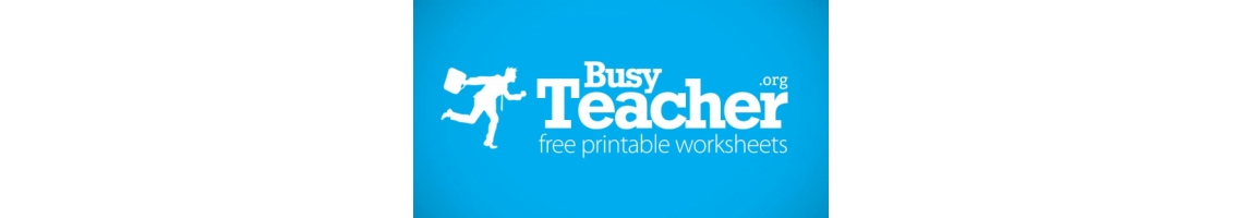 Imagem BusyTeacher: Free Printable Worksheets For Busy English Teachers
